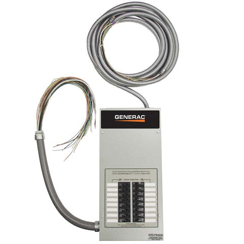 Generac RTG16EZA1 16 Circuit 100 Amp Load Center Automatic Transfer Switch