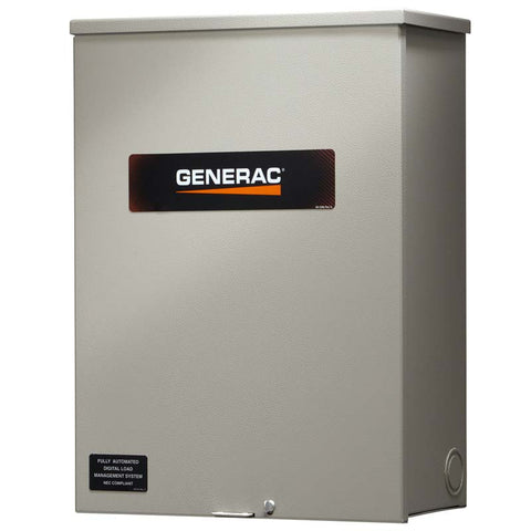 Generac RTSW100A3 100 Amp Service Rated Automatic Transfer Switch