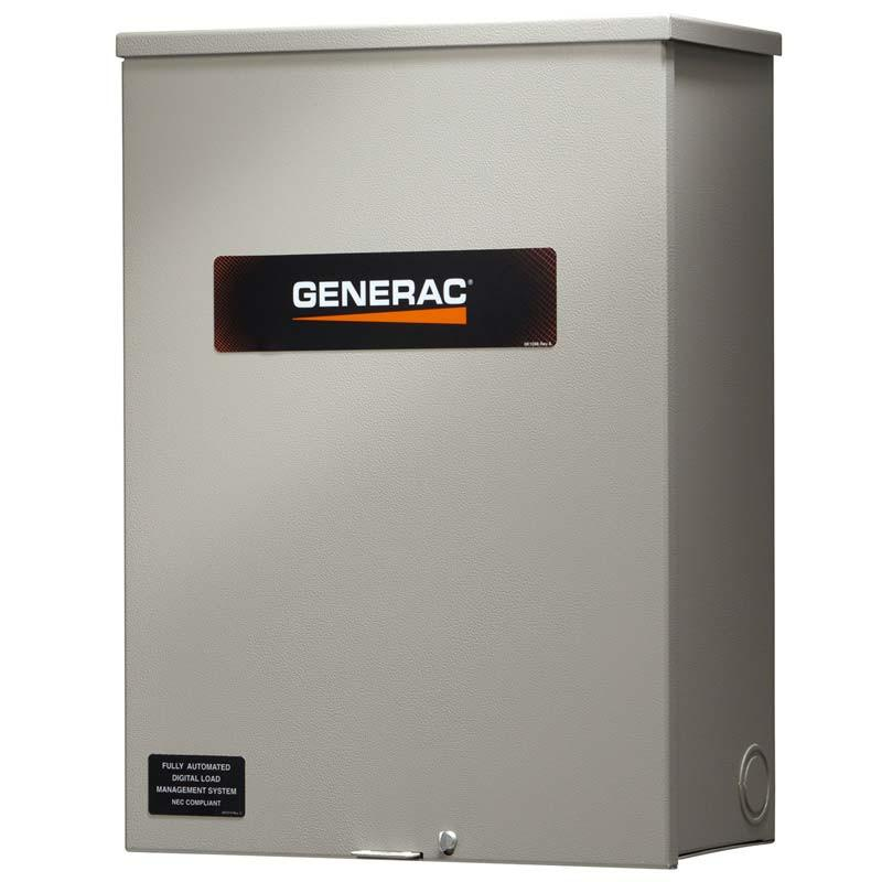 Generac RXSW100A3 100 Amp Service Rated Automatic Transfer Switch