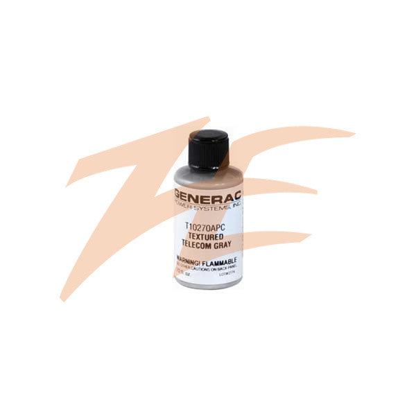 Generac 0A5815BTEX Bottle Paint 1/2oz Textured Telecom Gray