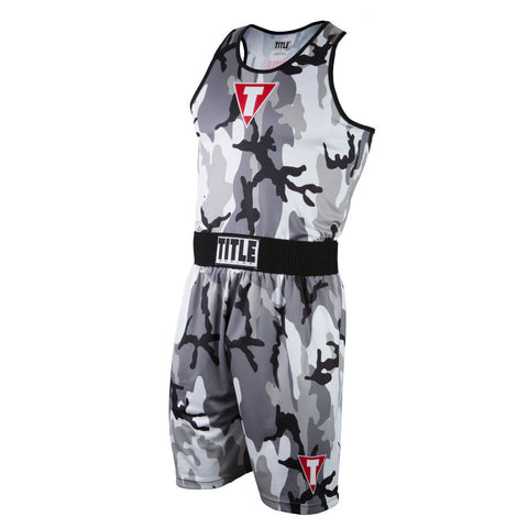 Title Boxing Army Camo Boxing Set - Angle 2