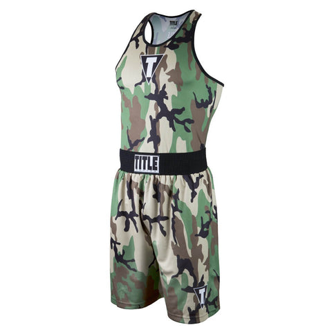 Title Boxing Army Camo Boxing Set - Main