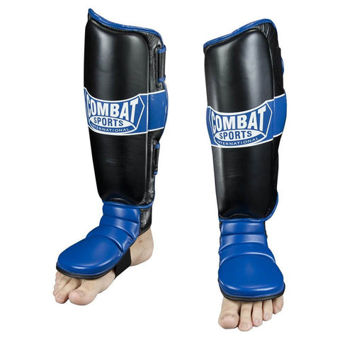 Combat Sports Hybrid MMA Grappling Shin Guards - Main