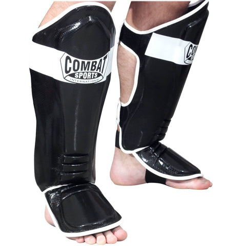 Combat Sports Kickboxing Shin Guards - Main