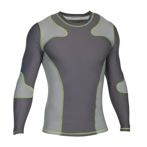 Century Long Sleeves Rashguard Charcoal - Main