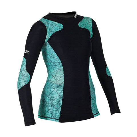 Century Women's Long Sleeves Rashguard - Main