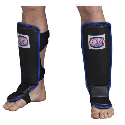 Combat Sports MMA Shin Guards - Hook & Loop - Main