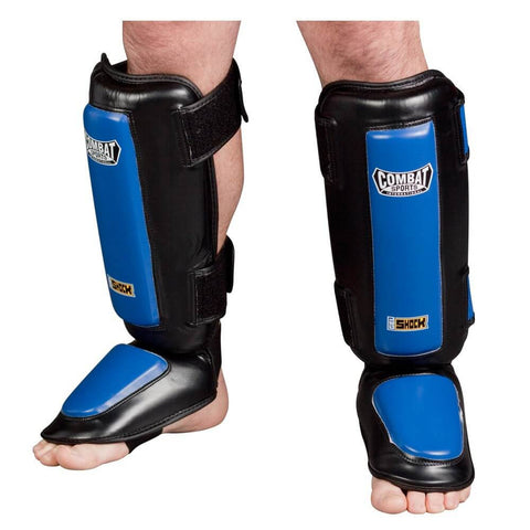 Combat Sports Gel Shock™ Kickboxing Shin Guards - Main