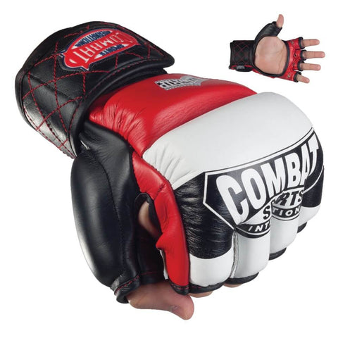 Combat Sports Amateur Competition MMA Gloves - Angle 2