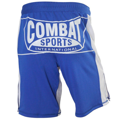 Combat Sports MMA Training Shorts - Blue - Angle 2