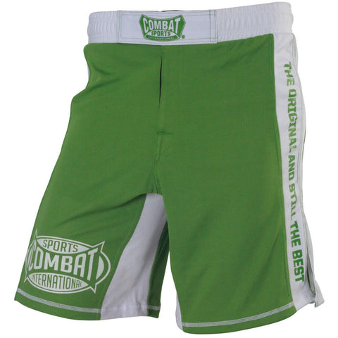 Combat Sports MMA Training Shorts - Green - Main