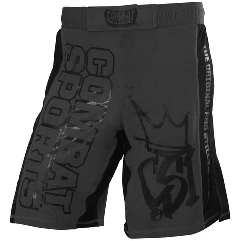 Combat Sports MMA Training Shorts - Grey / Black - Main