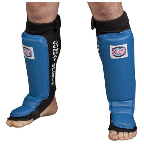 Combat Sports MMA Sparring Shin Guards - Main