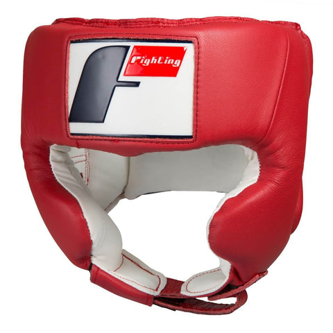 Fighting Sports USA Boxing Competition Headgear W/Cheek - Angle 2