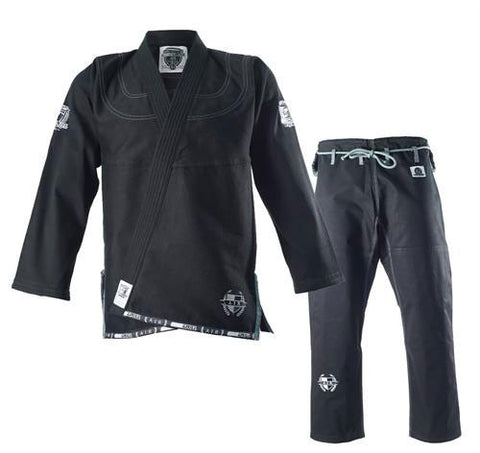 Grab and Pull Air Black Jiu Jitsu Gi - Main