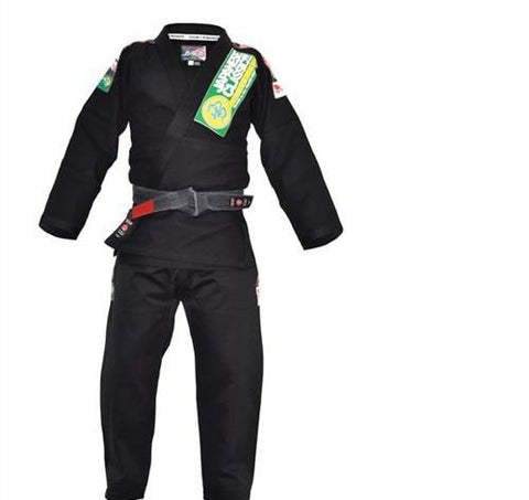 Isami Double Weave Jiu Jitsu Gi With Patches - Main