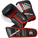 Meister Gel Armor 16 Oz Cowhide Leather Boxing Gloves - Angle 5