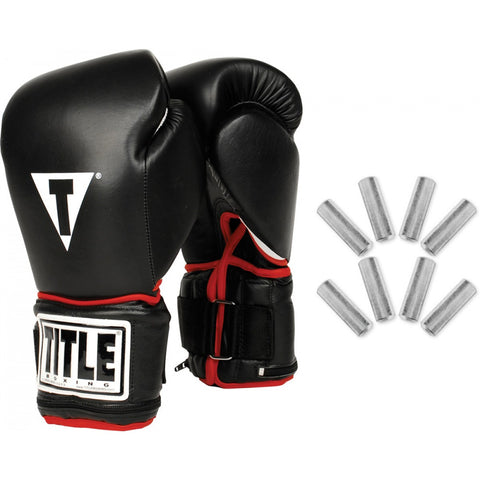 Title Power Weighted Bag Gloves - Main