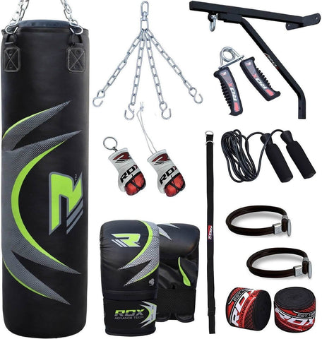 RDX 17PBR-33GB 17pc Zero Impact G-Core Heavy Bag Bundle
