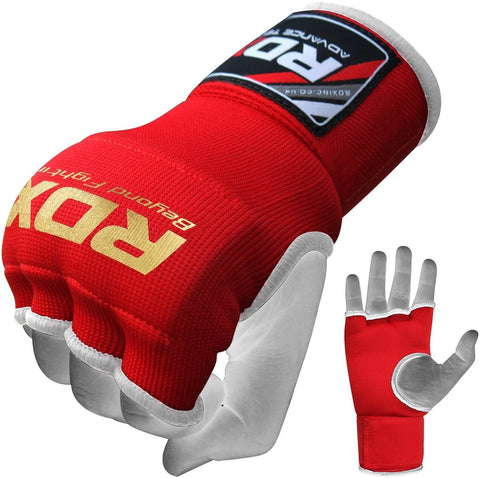 RDX Inner Gloves Wrist Strap Training Hand Wraps - Red