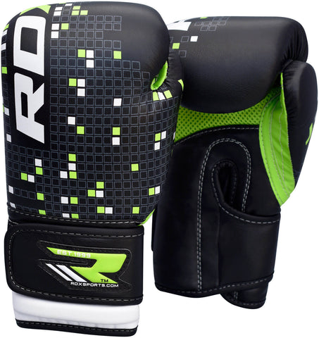 RDX Kids Leather-X Boxing Gloves