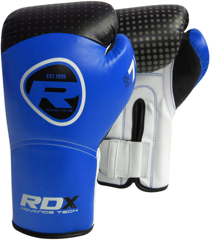 RDX Maya Hide Leather Kids Boxing Gloves - Blue