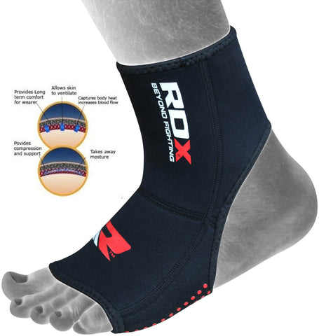 RDX Neoprene Anklet Foot Support Brace Protection - Features