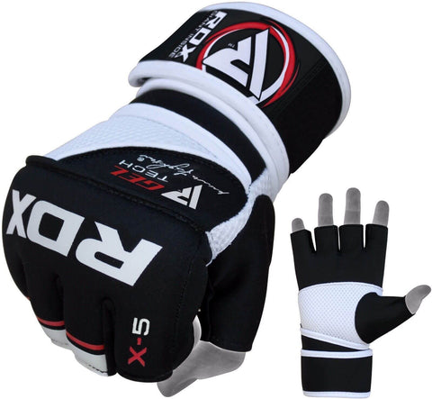 RDX Pro Fighters Neoprene Grappling Gloves