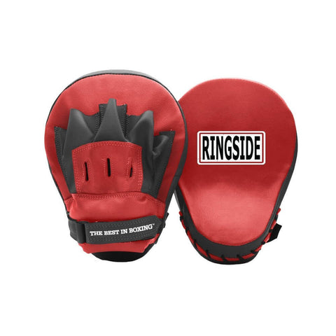 Ringside Curved Classic Focus Mitts - Main