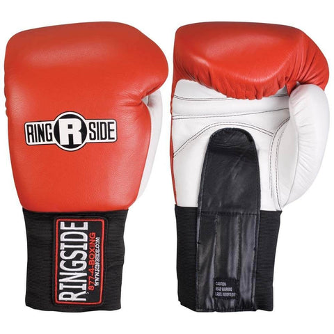 Ringside Heavy Hitter 20 Oz Leather Sparring Gloves - Main