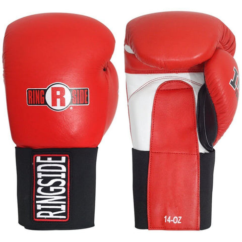 Ringside IMF Tech™ Hook & Loop Leather Sparring Gloves - Main
