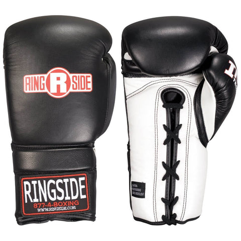Ringside IMF Tech™ Lace-Up Leather Sparring Gloves - Main