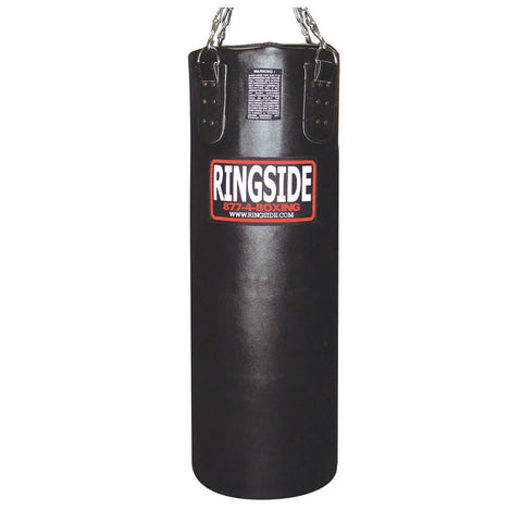 Ringside Leather Heavy Bag - Filled - Angle 2