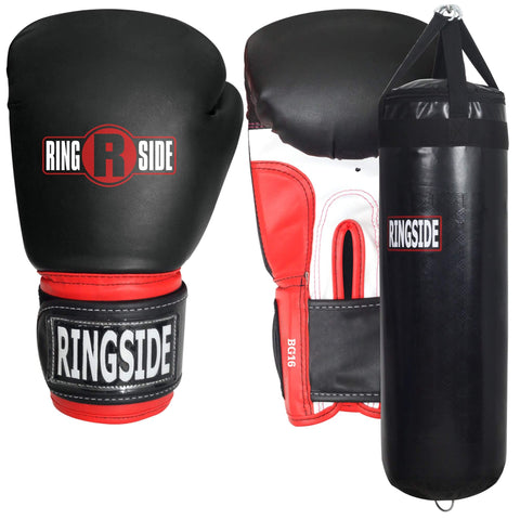 Ringside Boxing Gloves + Punching Bag Bundle - Main