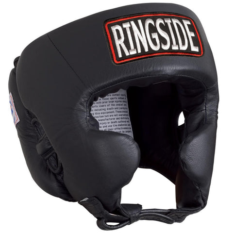 Ringside Boxing Competition Headgear W/Cheeks - Plain Color - Main
