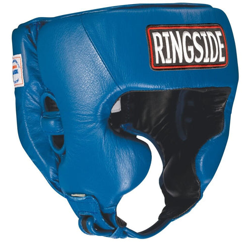 Ringside Boxing Competition Headgear W/Cheeks - Plain Color - Angle 2