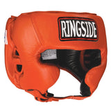 Ringside Boxing Competition Headgear W/Cheeks - Plain Color - Angle 3