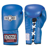 Ringside Competition Safety Lace Gloves - Angle 2