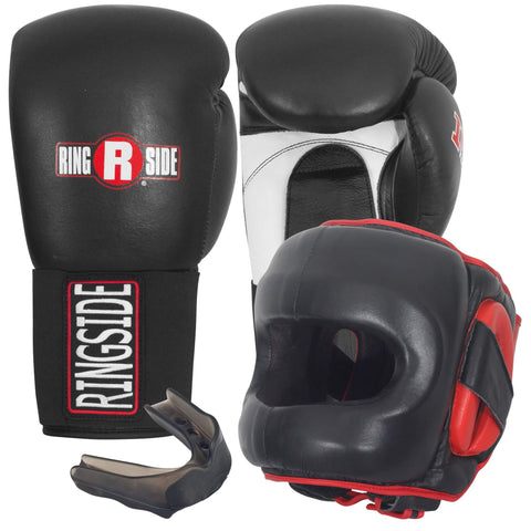 Ringside Sparring Bundle - Gloves, Headgear & Mouthguard - Main