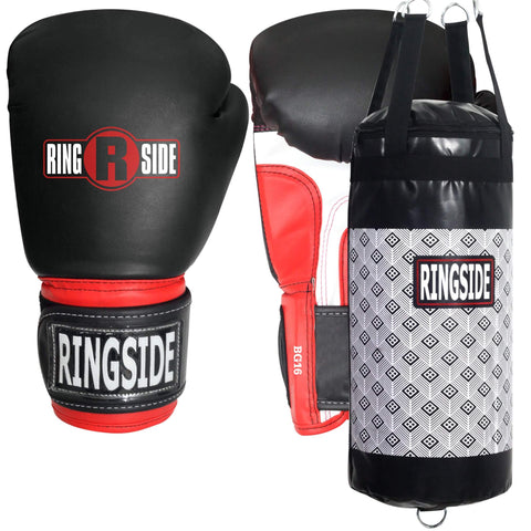 Ringside Youth Boxing Gloves + Punching Bag Bundle - Main