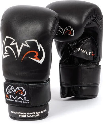 Rival Boxing Mexican-Style Bag Gloves - Angle 2
