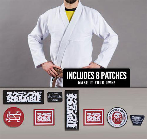 Scramble Semi-Custom Standard Issue Brazilian Jiu-Jitsu Gi - Main