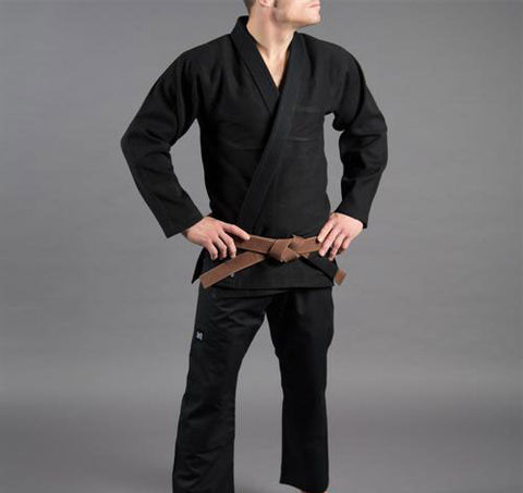 Scramble Standard Issue Black Jiu Jitsu Gi - Main
