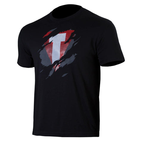 T Shredded T-Shirt - Main