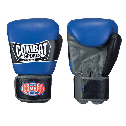 Combat Sports Muay Thai Style Sparring Gloves - Angle 2