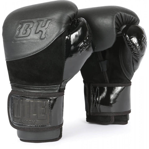 Title Black Blitz Boxing Bag Gloves - Main