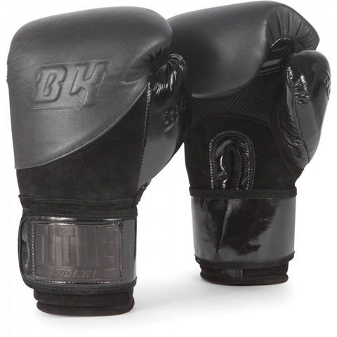 Title Black Blitz Boxing Sparring Gloves - Main