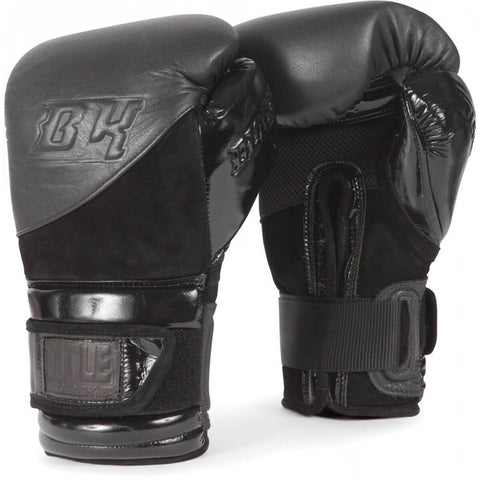 Title Black Blitz Boxing Training Gloves - Main