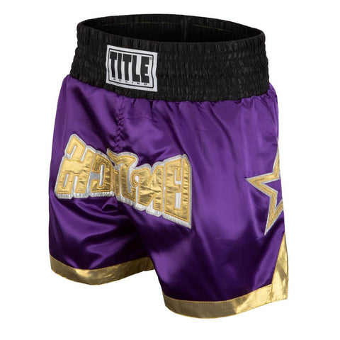 Title Boxing Purple Star Muay Thai Shorts - Main