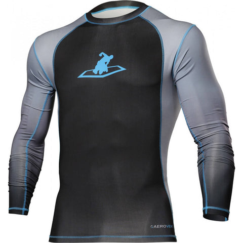 Title Force Long-Sleeve MMA Rashguard - Main